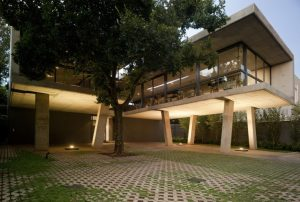 Architectural Projects in South Africa - Exterior of Floating House in Pretoria