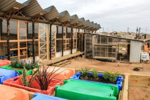 Architectural Projects in South Africa - Exterior of Silindokuhle Pre School in Port Elizabeth