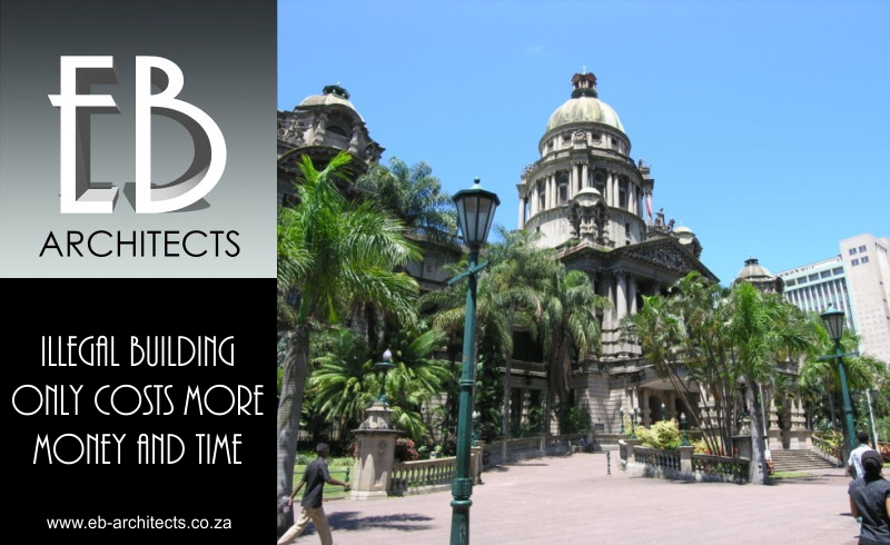 Built Environment Durban – illegal building – Durban City Hall